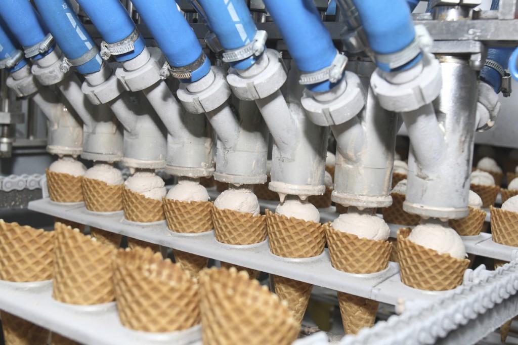 Экскурсия на фабрику мороженого
