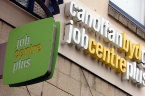 unemployment fall in wales