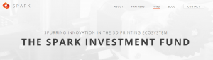 spark investment fund 3d printing